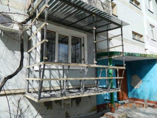 Осткление балкона под ключ