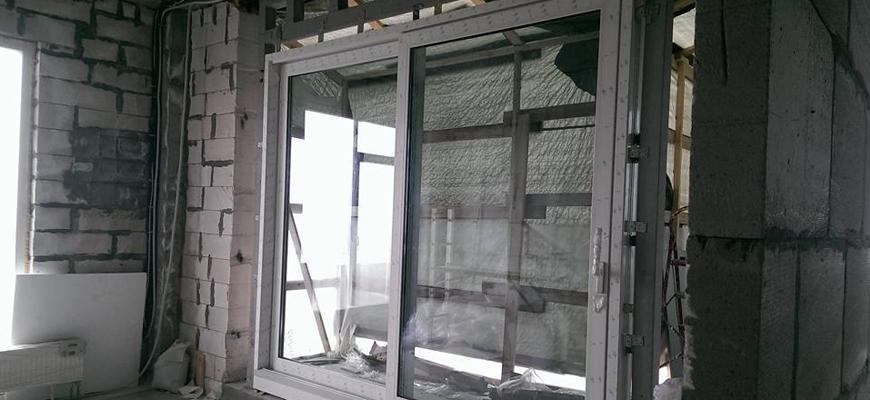 Подъемно раздвежные двери VekaSlide